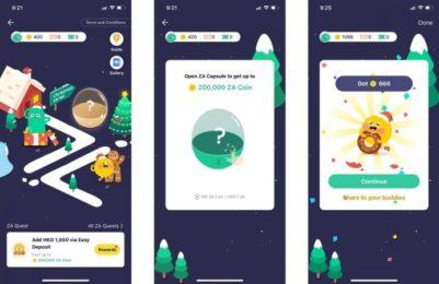 ترکیب بازیگونهسازی و موبایلبانک، توسط اولین بانک مجازی هنگکنگ